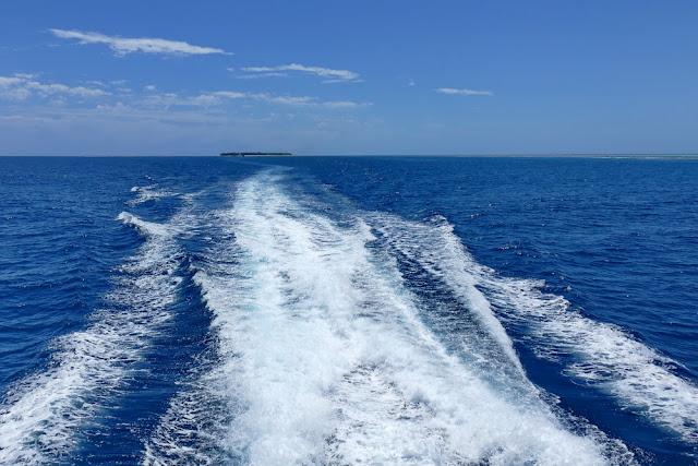 Heron Island Abschied Horizont Meer Insel