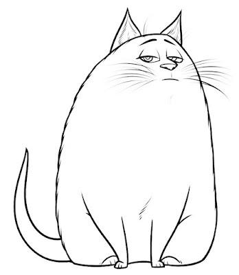 Chloe mascotas dibujos colorear