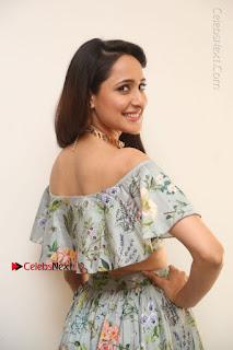 Actress Pragya Jaiswal Stills in Floral Dress at turodu Interview  0061.JPG