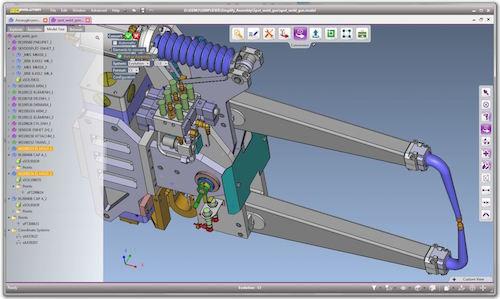 Read-out Instrumentation Signpost: Software for 3D Data