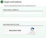 Cara membuat contact form online gratis