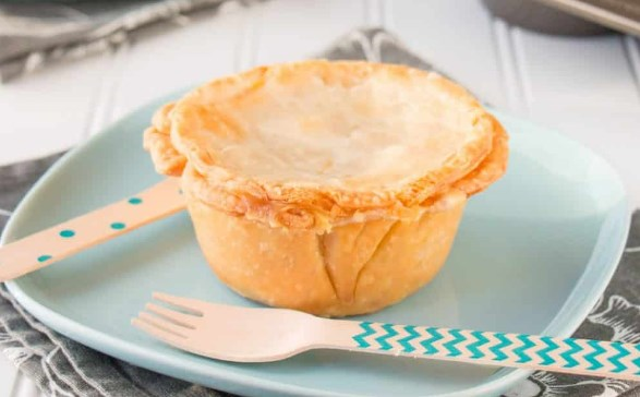 DELICIOUS MINI TURKEY POT PIES