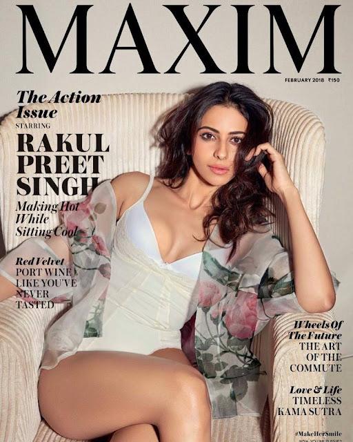 Rakul Preet Singh - Maxim India Feb 2018