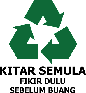 logo kitar semula relaks minda
