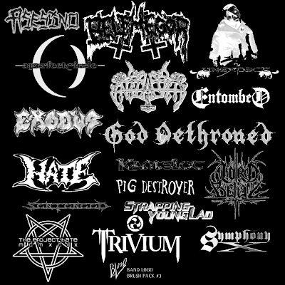 Belphegor, Unexpect, God Dethroned, Strapping Young Lad, Trivium, Lord Belial, The Project Hate, Pig Destroyer, Asesino, Enslaved, Hate, A Perfect Circle, Exodus, Sentenced, Symphony X, Kamelot...