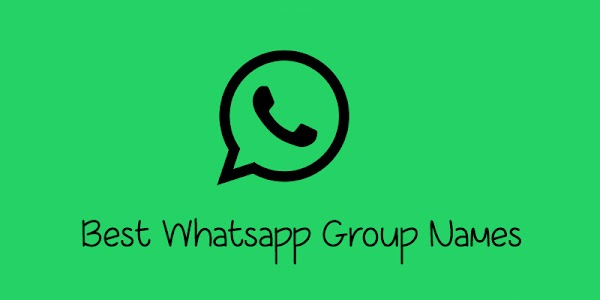 Best Whatsapp Group Names in English