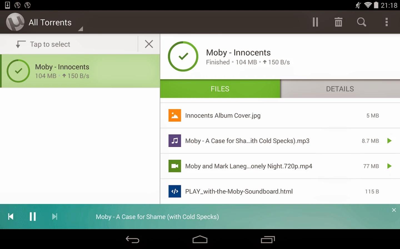 μTorrent Pro - Torrent App 2.13 Apk ~ PCGamesAndro