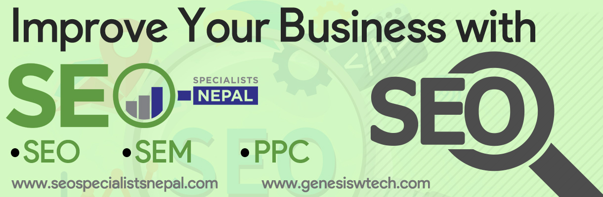 SEO in Nepal, Genesis Web Technology, Digital Marketing Company in Nepal,