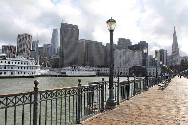 san francisco, pier 7, financial district