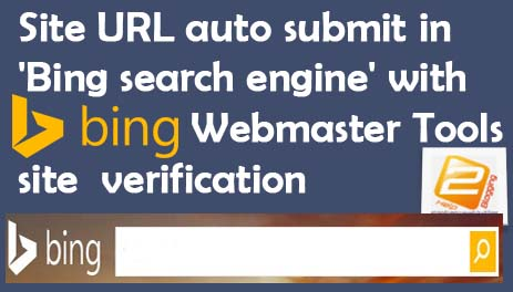 How To Site Sitemap Auto Submit In Bing Search Engine