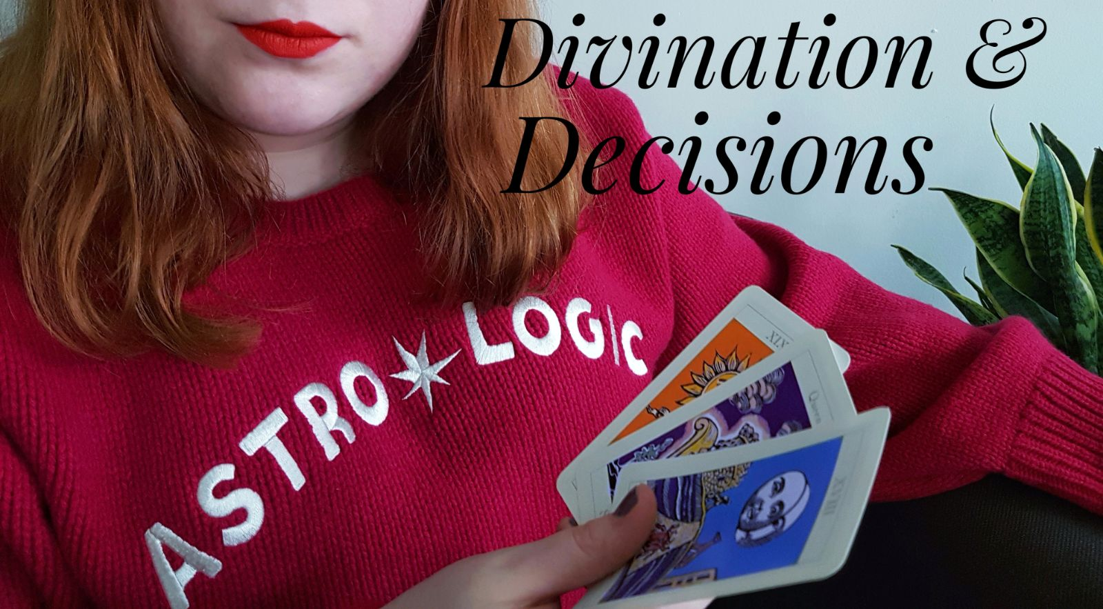 Using tarot cards to make decisions