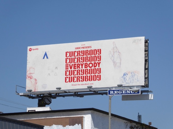 Logic Everybody album Spotify billboard