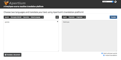 Apertium: Free open source language translator