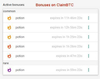 Bonus On claim btc