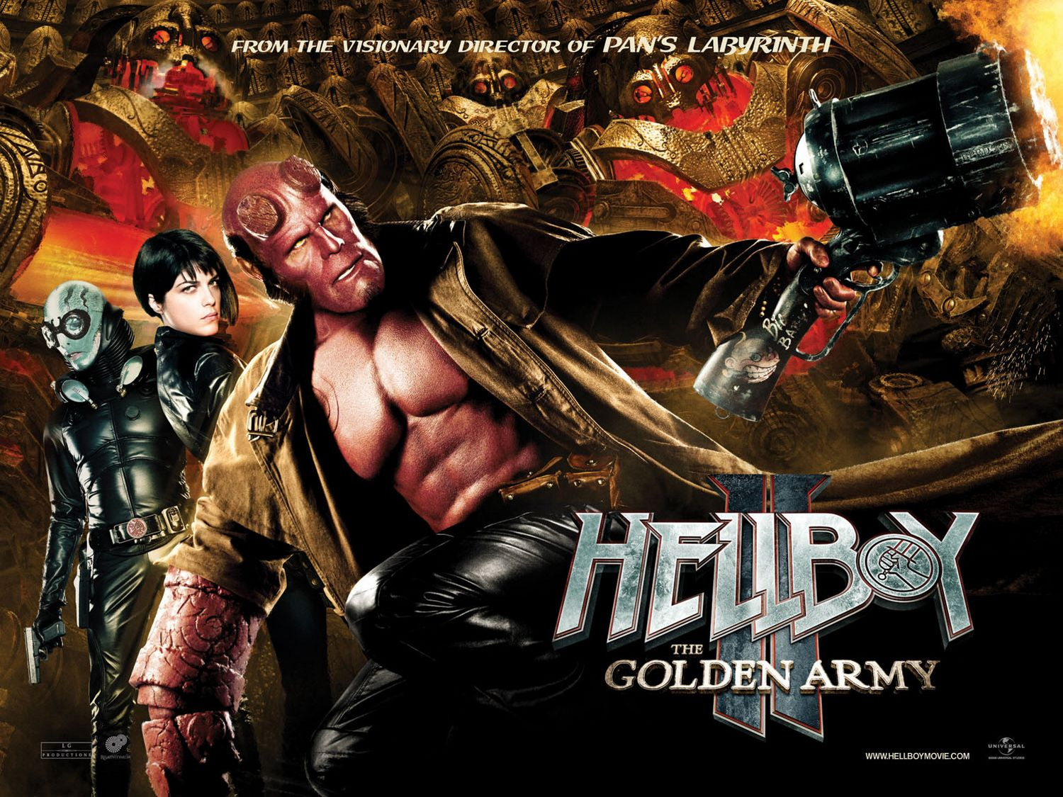 """PULP SCIFI :: Latin and Spanish Science Fiction: """"Hellboy ..."""