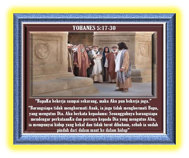 Yohanes  5:17-30