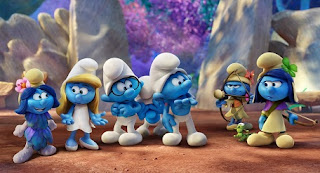 smurfs the lost village cover still