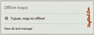 membuka map offline di android