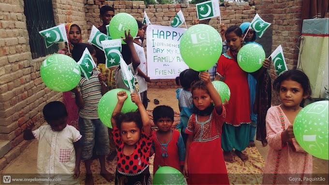 (Paquistão): Comemorando o Dia da Independência
