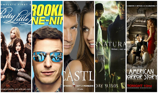 Amy Tinson: Five Friday Favourites: TV Series