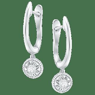 Cantik dan Bersinar Dengan Memakai Anting Berlian Asli