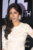 Chandini Chowdary in white Tight dress at Shamanthakamani pre release function ~  Exclusive 054.JPG