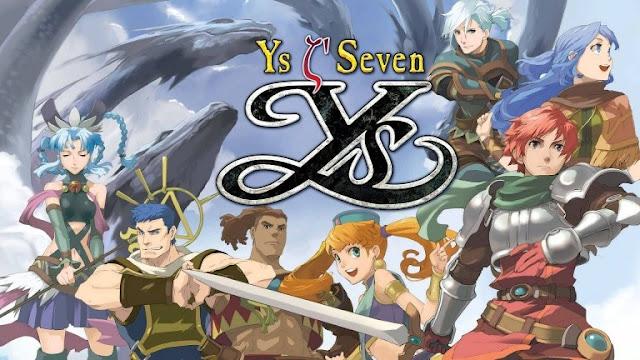 الكشف عن موعد إصدار لعبة Ys Seven على جهاز PC