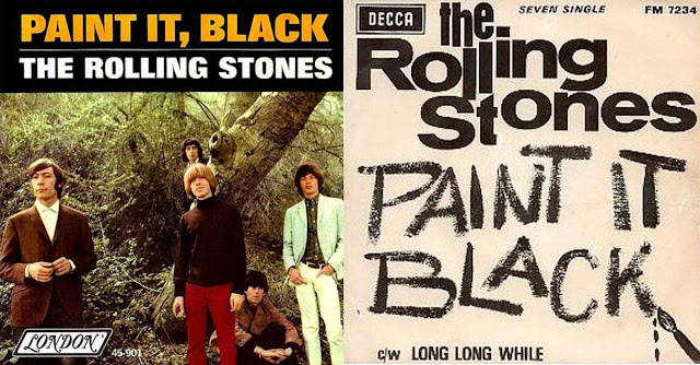 paint it black rolling stones