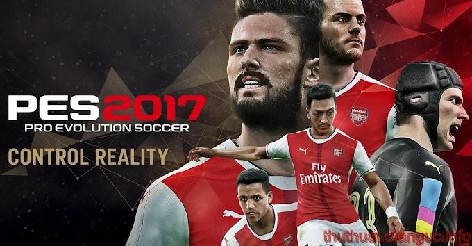 Download PES 2017 Full crack – Tải game Pro Evolution Soccer 2017