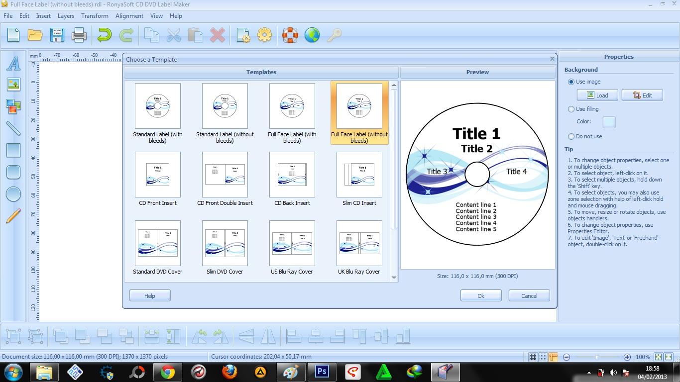 RonyaSoft CD DVD Label Maker 3.2.18 + Keygen [Full] | KoLomPC
