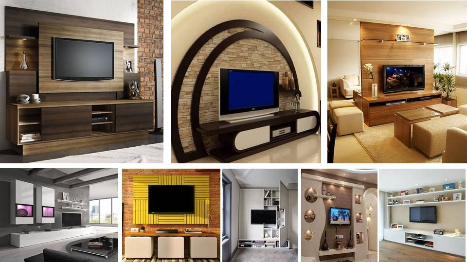 Superieur Lcd Wall Unit Design For Living Room