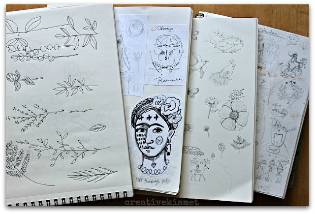 Regina Lord, Sketchbooks, Sketchbook Conversations