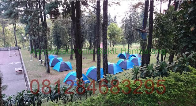 Lokasi Kemping Keluarga kawasan Sentul Bogor