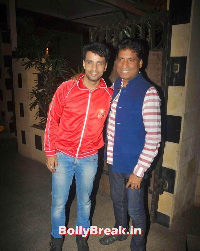 Rajiv Thakur, Raju Srivastav, Photos From Jaipur Raj Joshilay Team Jersey Launch