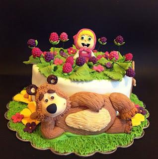 Tortas Decoradas con Masha y el Oso