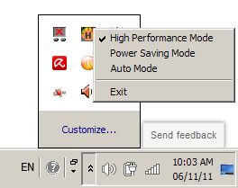 Tweak Your Eee Pc S Consumption To Reap Substantial Savings Simply Select One Of These Three Modes Adjust The Cpu Frequency Voltage And Lcd