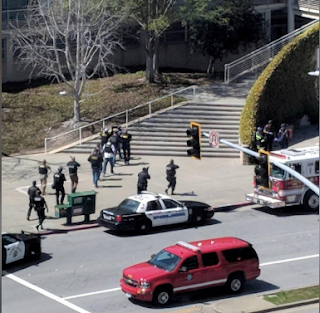 Woman wounds three at YouTube headquarters in California before killing herself.