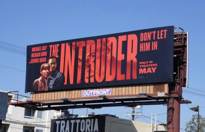 Intruder film billboard