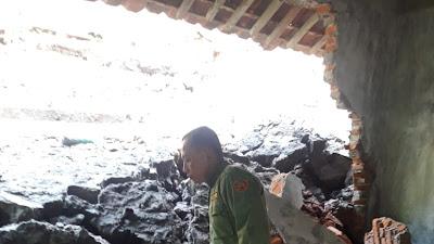 Hujan Lebat, Desa Pamriyan Longsor