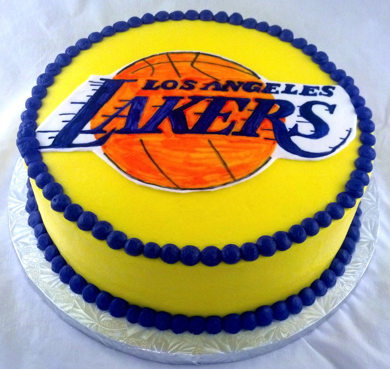Lakers Groom S Cake