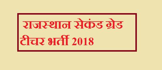 राजस्थान में 9000 पदों पर द्वितीय श्रेणी के शिक्षकों बनने का सुनहरा अवसर