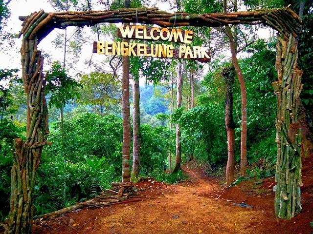 Pintu Masuk Bengkelung Park Pekalongan