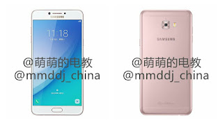 Samsung Galaxy C7 Pro Press Images
