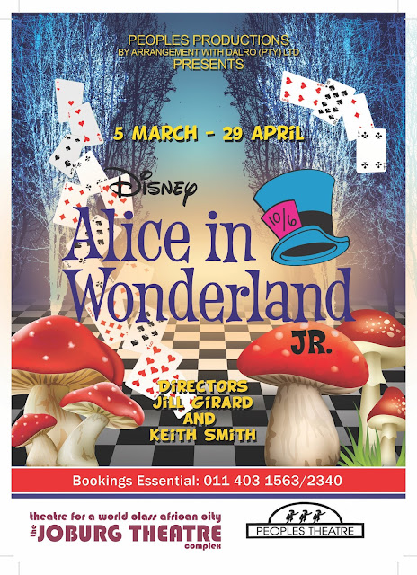 Poster of Disney Alice in Wonderland