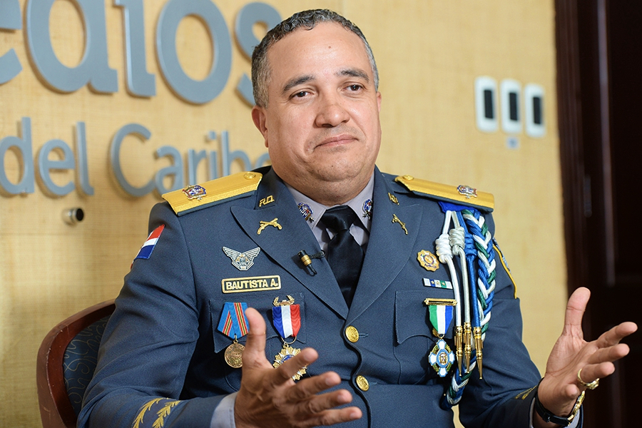 general Ney Aldrin Bautista Almonte