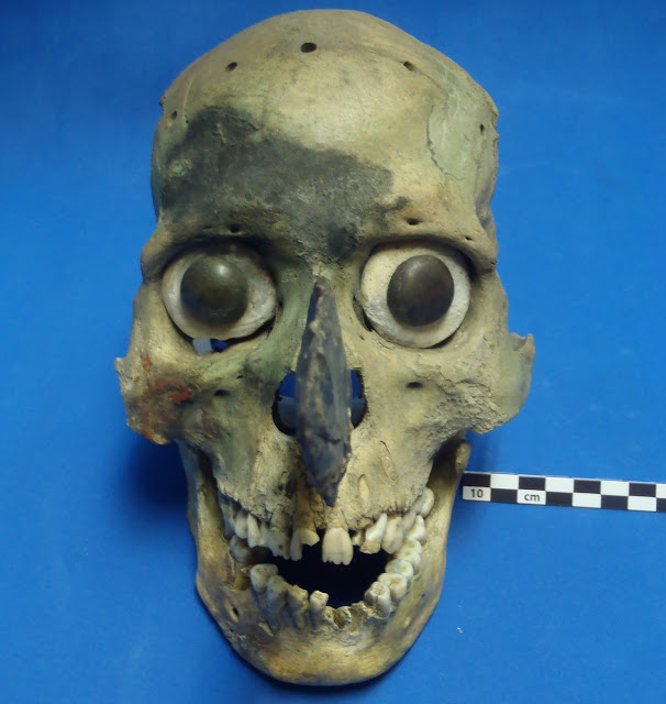 Mystery of the gruesome Aztec skull masks solved