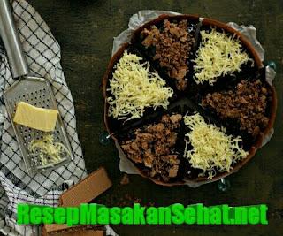 Cara membuat martabak brownies ncc