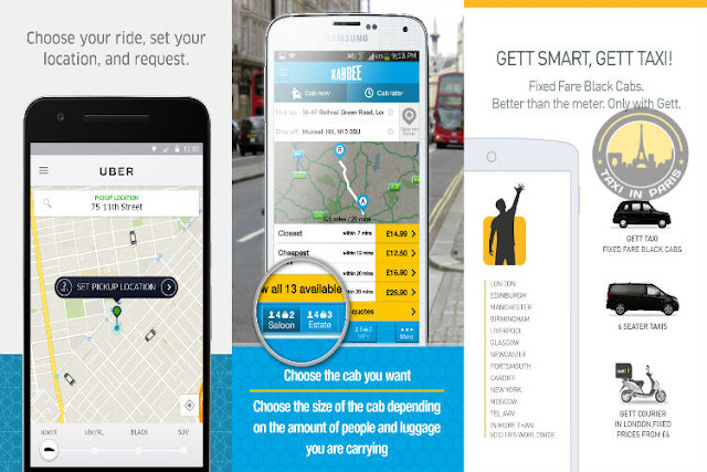 best taxi app for paris