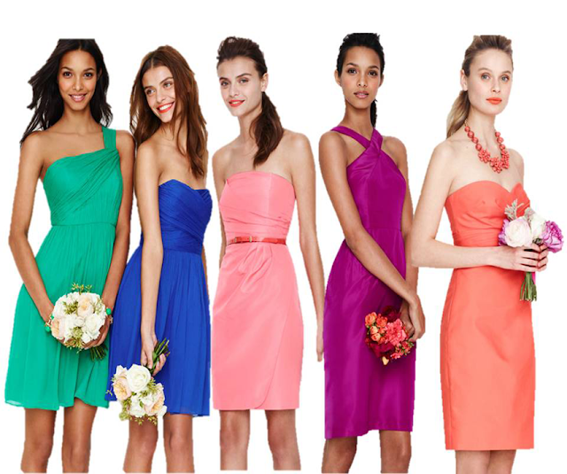 how to select dress color