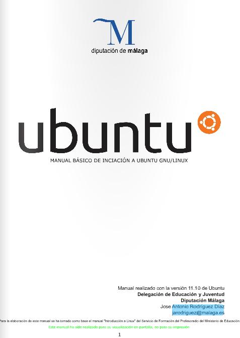 Esbuntu: Libros para aprender a usar Ubuntu gratis.